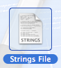 strings file
